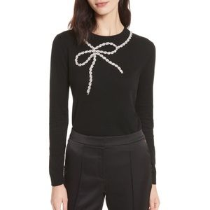Ted Baker Sparkle Bow Sweater